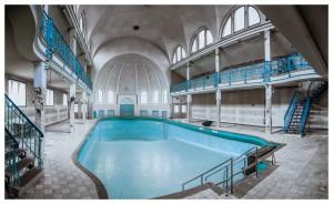 old abandoned pool in Berlin